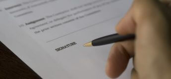 signing fixed term contract